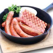 厳選した肉を贅沢に使った『牛サーロインのグリル』