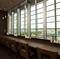 窓に面したカウンター席で、景色を眺めながらの1人ご飯