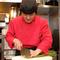 料理を食べたお客様の笑顔を励みに、心を込めて調理