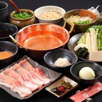 穀物菜食 白金豚ランチコース