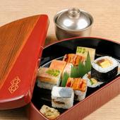 懐石料理のすべての要素を楽しめる『大阪すし』
