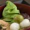国産の素材を魅惑の和スイーツで頂く『抹茶クリームわらび餅』