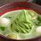 北海道産大納言が濃厚抹茶を引き立てる『抹茶クリームぜんざい』