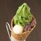 テイクアウトで気軽に京を味わう『お濃い抹茶ソフトクリーム』