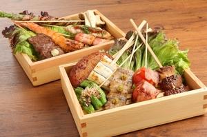 バリエーション豊富な味わいが楽しい『串焼き』
