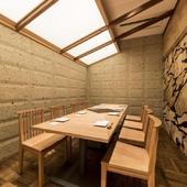 結納や顔合わせ、接待などにも使える格調高い個室