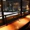 27階からのパノラマ夜景を眺めながら、ロマンチックなひととき