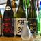 料理に合わせて季節ごとにセレクトされる日本酒