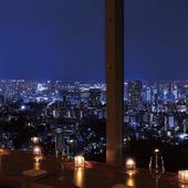 バカラの巨大シャンデリアと東京中のイルミネーションを・・・