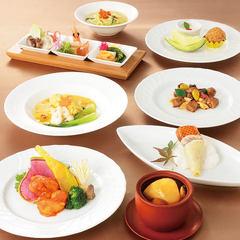 【ルーキスガーデン恵比寿】の魅力が詰まったシェフおすすめのコース料理です