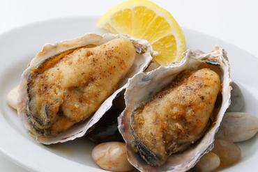 <オススメ>牡蠣とエリンギのアヒージョ ~ガーリックバターとアンチョビソース~