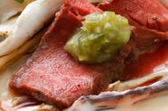 5種類のソースで味わえる『焼き牡蠣 全種盛り合わせ』