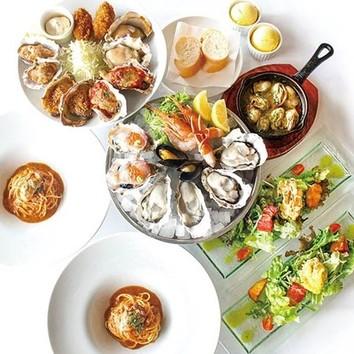<7/1~8/31ご予約限定>ランチタイムの真牡蠣食べ放題!
