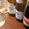 ワインを主体に、牡蠣に合う様々なお酒がラインナップ