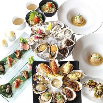 飲み放題付[人気の牡蠣料理!]カジュアルコース