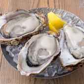 採れたての旬の牡蠣を味わえる、これ以上ない贅沢さ