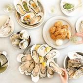 女子の集いにぴったりなフレンチの技法を取り入れた牡蠣料理
