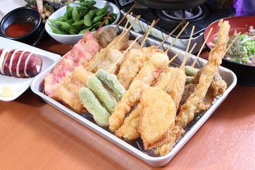 5品盛り(豚・牛・玉ねぎ・煮玉子・紅ショウガ)