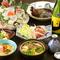 旬の鮮魚を使用した料理と日本酒