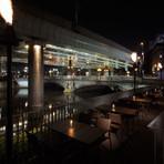 日本橋の夜景を見渡しながらのディナー