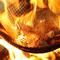 口中にジュワッと肉汁溢れる豪快な一皿『比内地鶏の炭火ゴロ焼き』