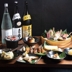定番おつまみからお刺身3種盛り、人気の桜島鶏しびれ竜田揚げに釜飯までご用意♪是非ご堪能ください♪
