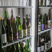 全国47都道府県の日本酒をご用意♪プレミアムな地酒も☆