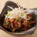 北海道クリームチーズのラー油和え