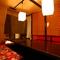 接待や会食に最適な完全個室をご用意しております。