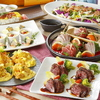 趣向を凝らした料理を堪能できる『厳選コース』