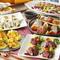 ワンランク上の食材を使用した上質な品々 贅沢和コース。