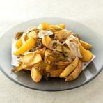 ユッケ仕立ての海鮮サラダ (3~4人前)