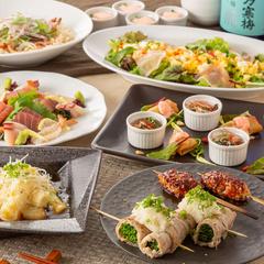 葱や特製の鶏葱鍋にメイン料理も楽しめる