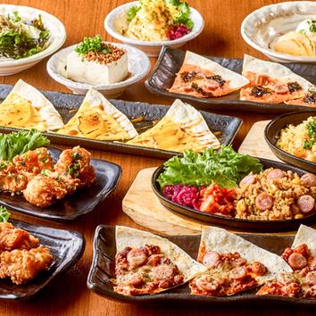 平日限定<2時間>自慢の創作料理×豊富なドリンク! 2400円
