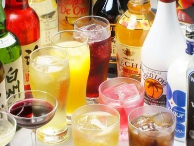 美味しい日本酒から各種飲み放題まで幅広くご用意しております