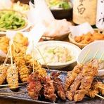 各種人数に応じて忘年会を受け付けております! 食べ飲み放題のコースに加え、大人数の宴会プランもございます。