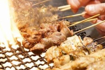 【3時間飲み放題付】◆満腹保障◆焼き鳥食べ放題!こっこコース<全8品>3300円