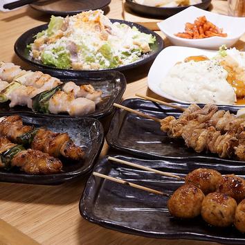 2時間食べ放題<ジローパーティー>2680円(税抜)