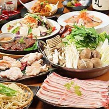 2時間飲み放題お鍋付全7品『鶏ゆず塩ちゃんこ鍋コース』3000円