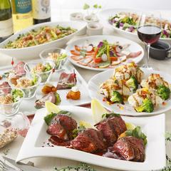趣向を凝らした料理を堪能できる厳選コース。