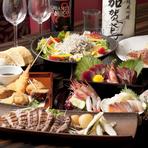 東京にいながら、日本全国の新鮮な魚介を堪能