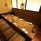 和の情緒溢れる掘りごたつ個室。各種宴会や会食に