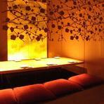 大小さまざまな個室で、あらゆるシーンで利用できる
