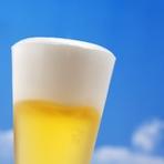 生ビール グラス、シャンディガフ、ノンアルコールビール