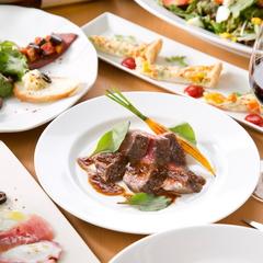 国産和牛ステーキ、魚介料理の数々で至福のひと時