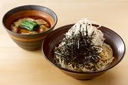 ランチセット(天ぷら盛り合わせ 又は まんげつ濃厚卵と名古屋コーチンの親子丼 付き)