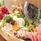 鮮度抜群! 新鮮な旬の魚介を満喫できる『お造りの5種盛り』