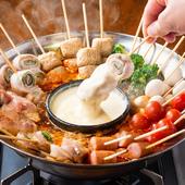 串鍋チーズフォンデュ