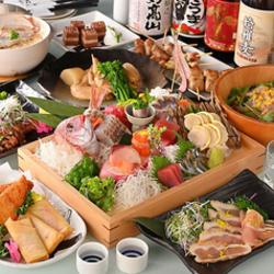 贅沢に楽しむなら!ボリュームたっぷりのお料理がご宴会に華を添えます