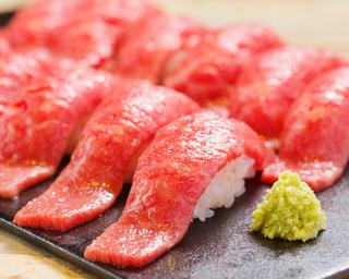 【食べ飲み放題】厳選肉寿司食べ放題+料理5品+120分飲み放題